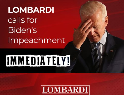 Lombardi: Biden Must Go